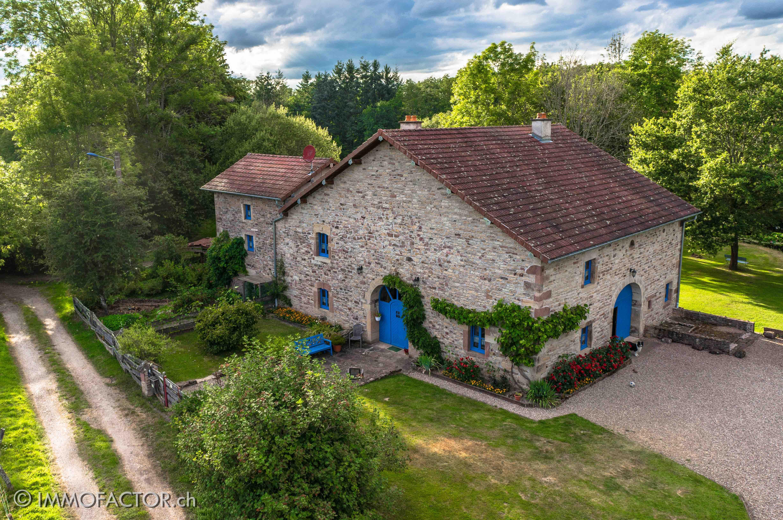 Bauernhaus Ferme Landhaus Frankreich France Haus