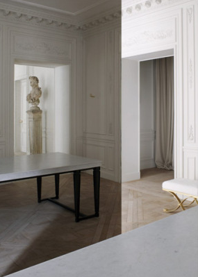 The Balmain Store In Paris By Joseph Dirand Timeless And Elegant