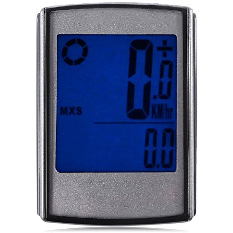 Wireless LCD Bike Computer Speedo Odometer Waterproof Speedometer Cycle Bicycle