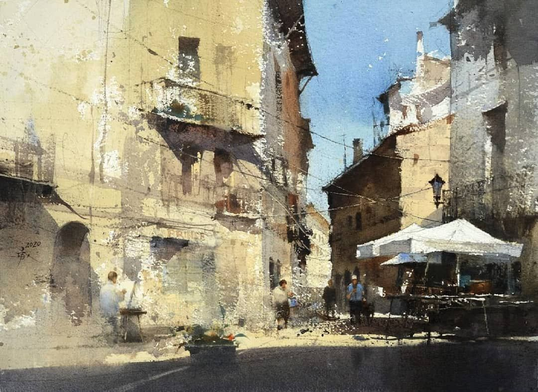 Watercolors Artists On Instagram Artist Chien Chung Wei Art