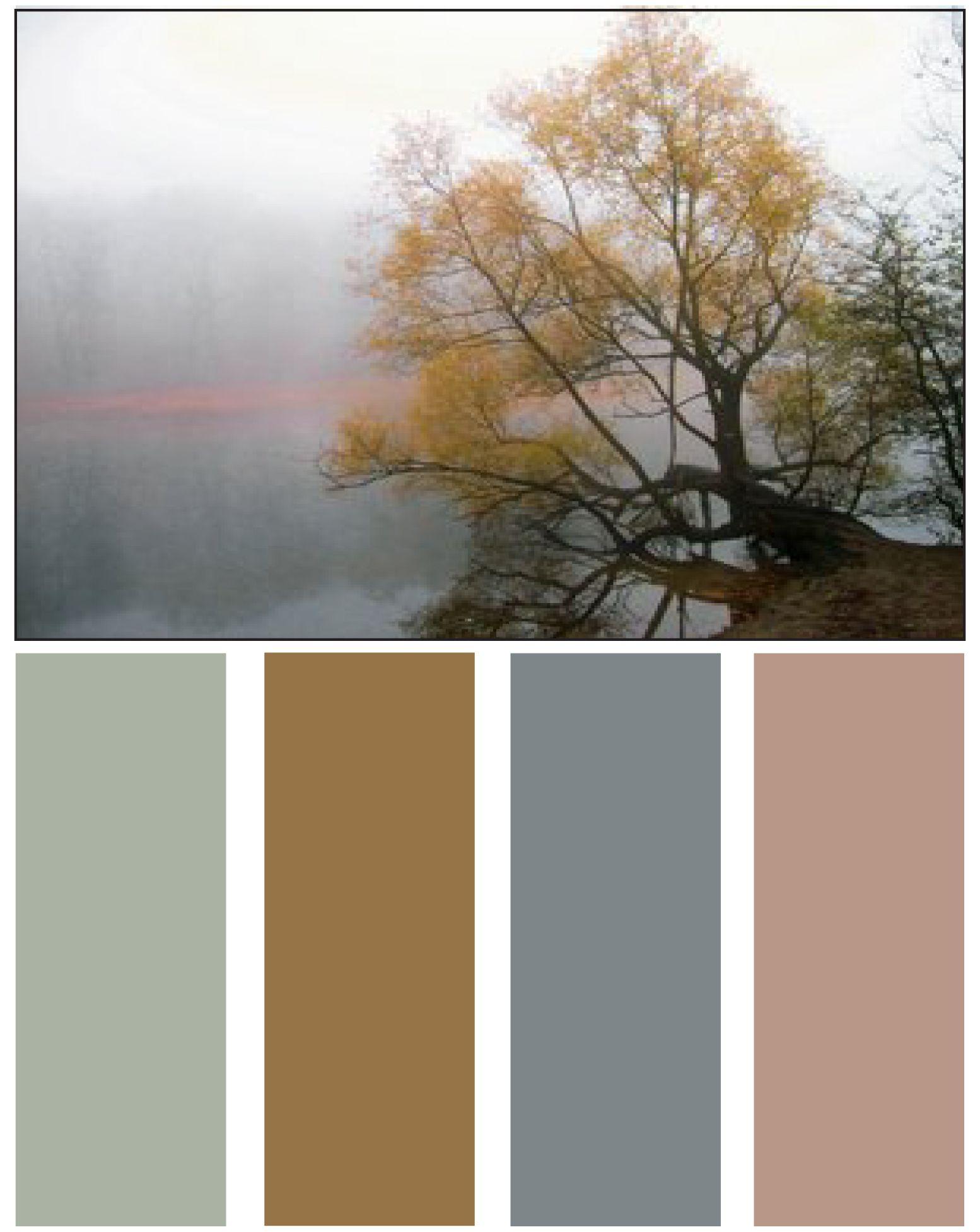 Forest color palette color me beautiful for Natural paint color palette