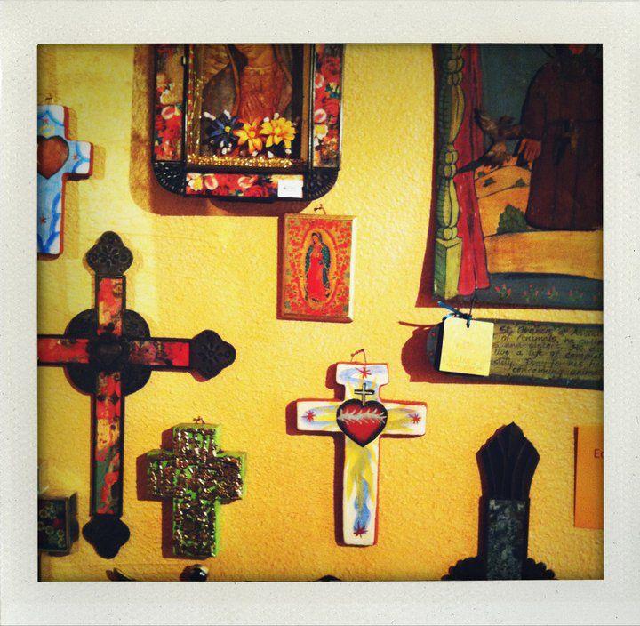 Cross wall | talavera love I was born in El Paso Tejas | Pinterest ...
