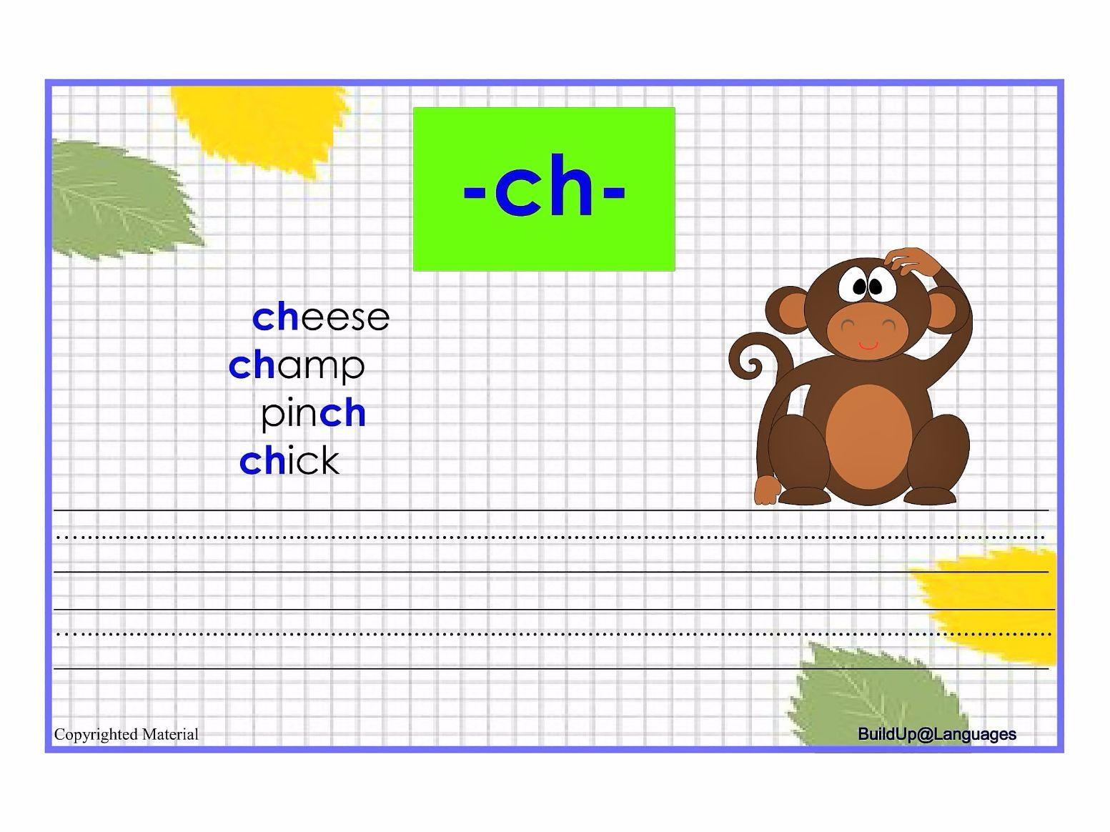 Th Ch Sh Wh Phonics