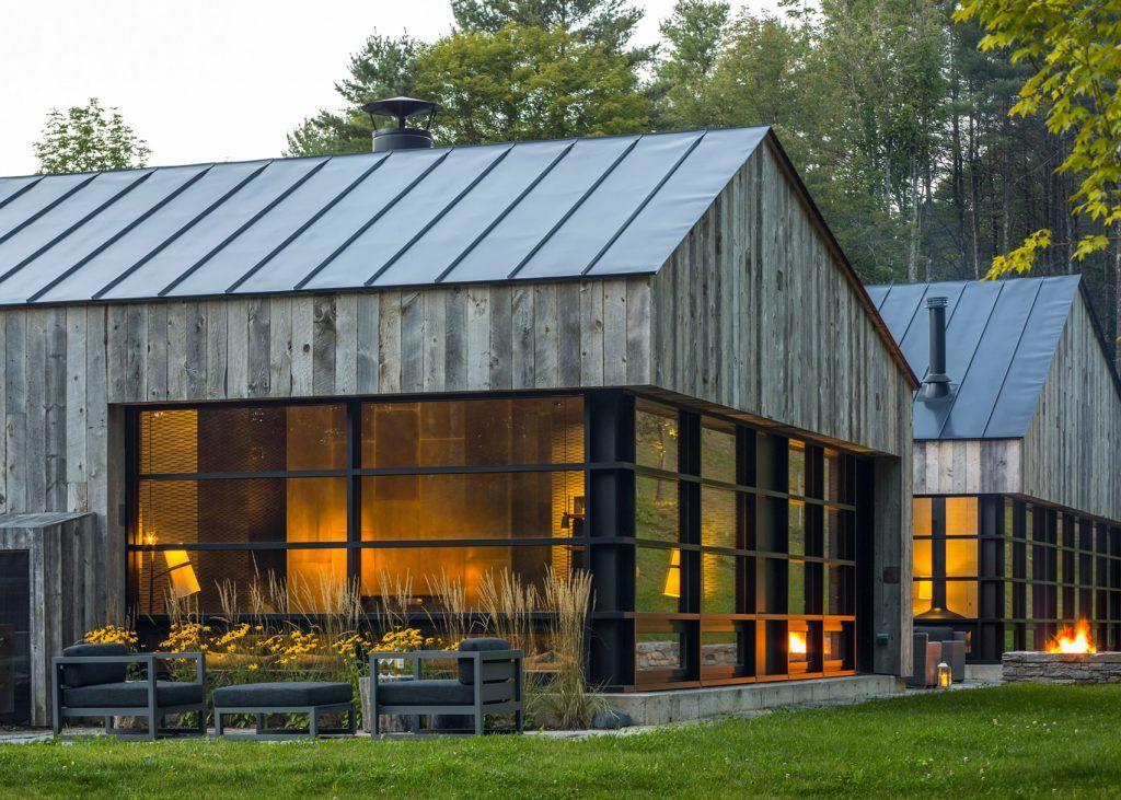 Woodshed By Birdseye Design Modern Barn House Architecture Modern House Design