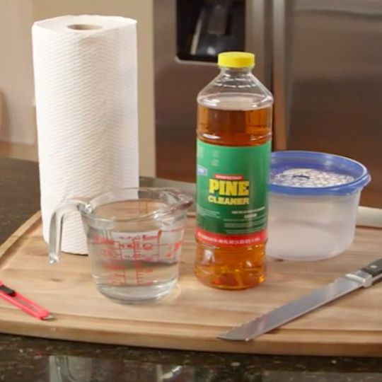 DIY Refillable Cleaning Wipes No Supplies To Clean Your Counter - Supplies to clean bathroom