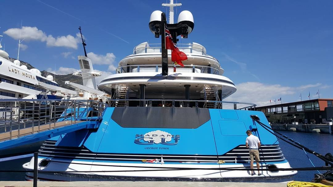 Charming Madame GU #yacht #superyacht #luxurylife #yachtclubmonaco #madamegu By  Luca_ursino