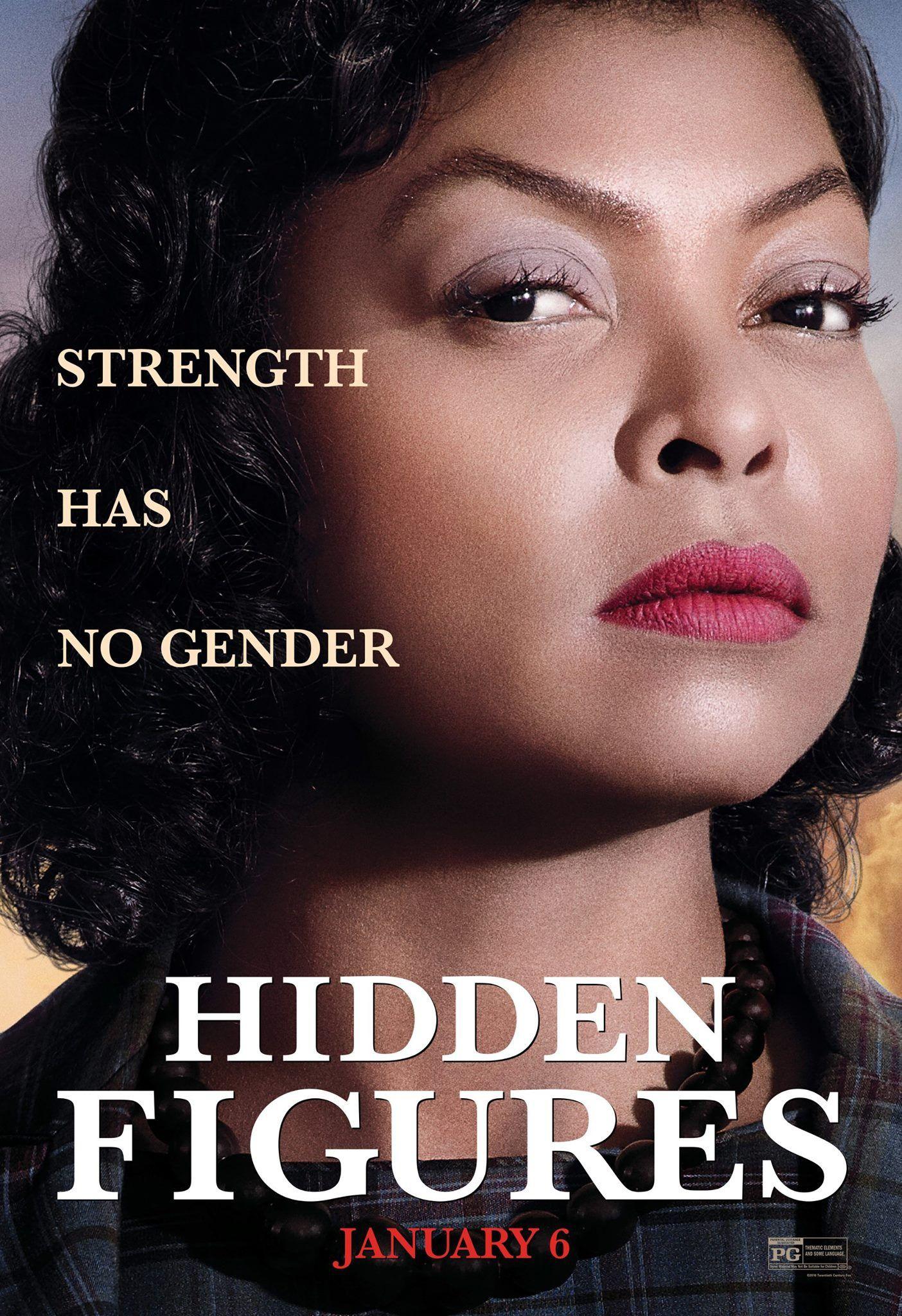 HIDDEN FIGURES (2017) Hidden figures, New movie posters