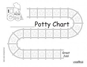 potty training chart have child put stickers on every time they go potty and get them a reward once its filled
