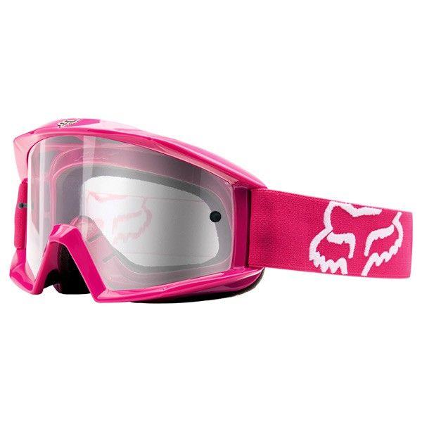 Masque Cross Rose Fox Main Rose We Love Pink Fox Racing