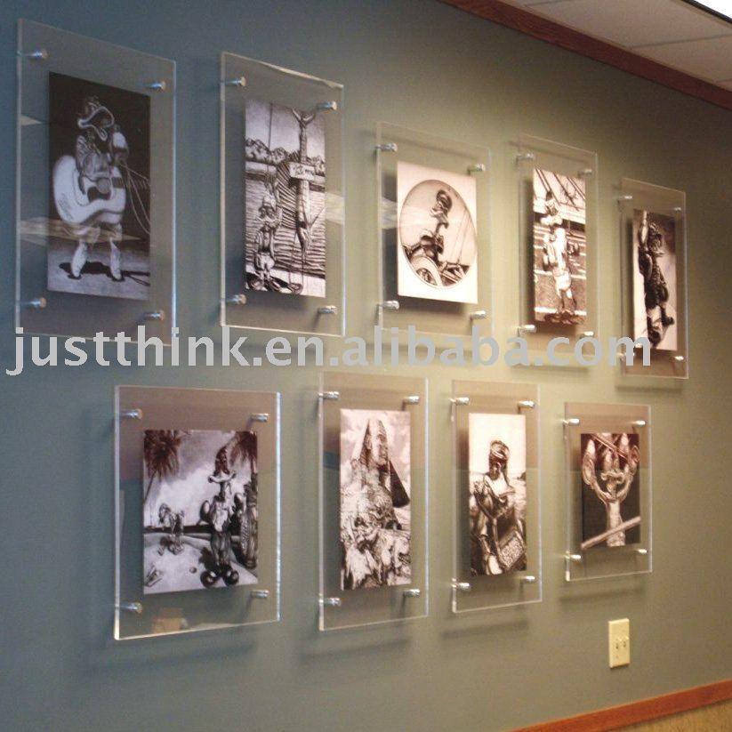 Acrylic Plastic Wall Hung Photo Picture Frame Fz E 1001 Art