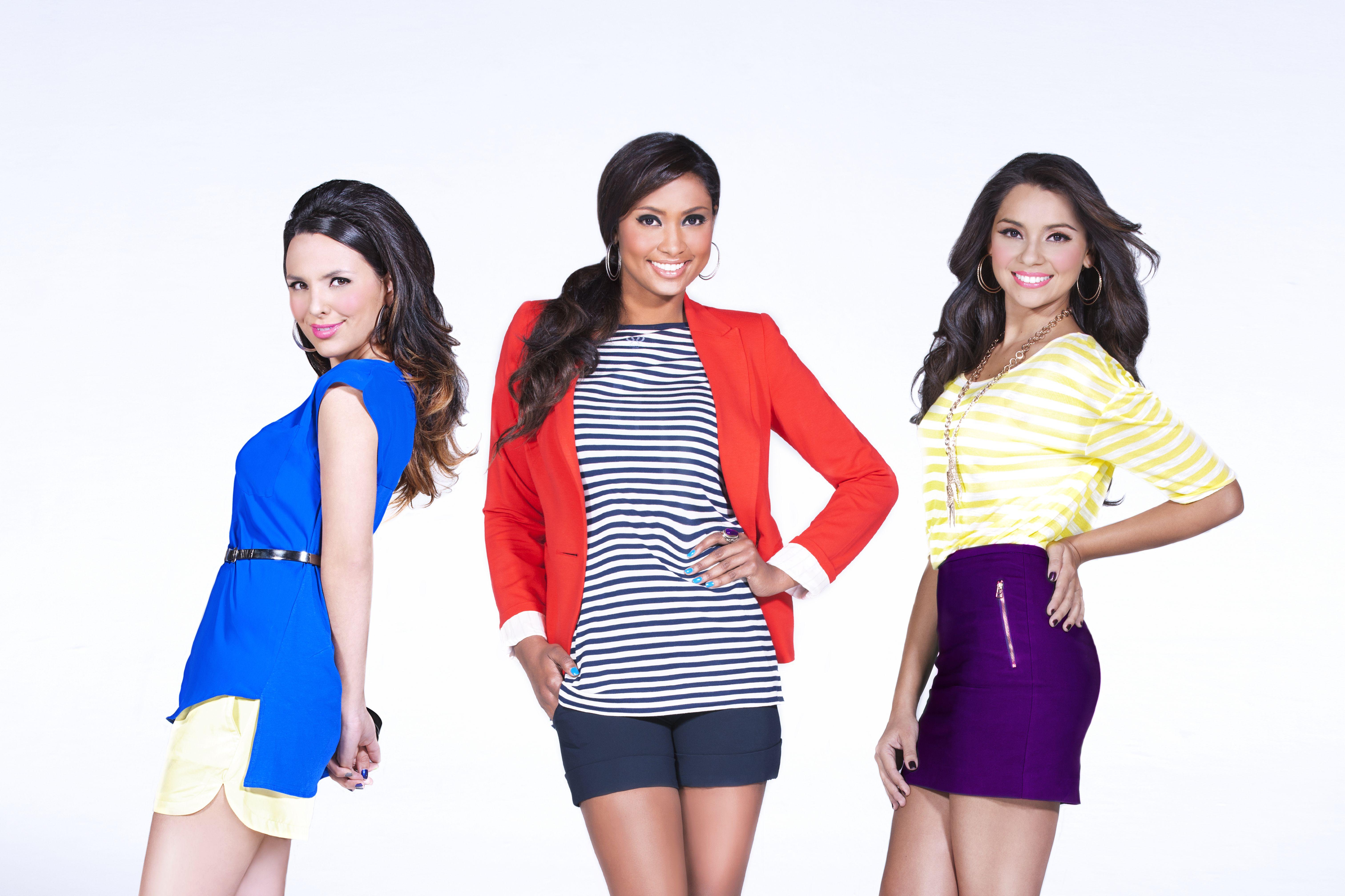Ellas tres fueron las finalistas de Chica E! Colombia. ¡Sé la próxima!