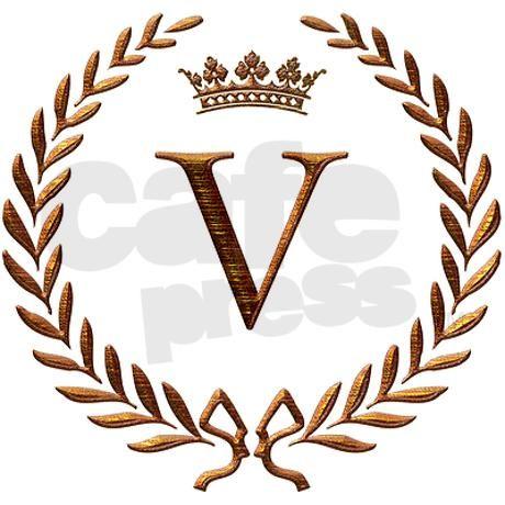 Napoleon Initial Letter V Monogram Mousepad By Jackthelads Cafepress Monogram Tattoo V Letter Tattoo Letter V