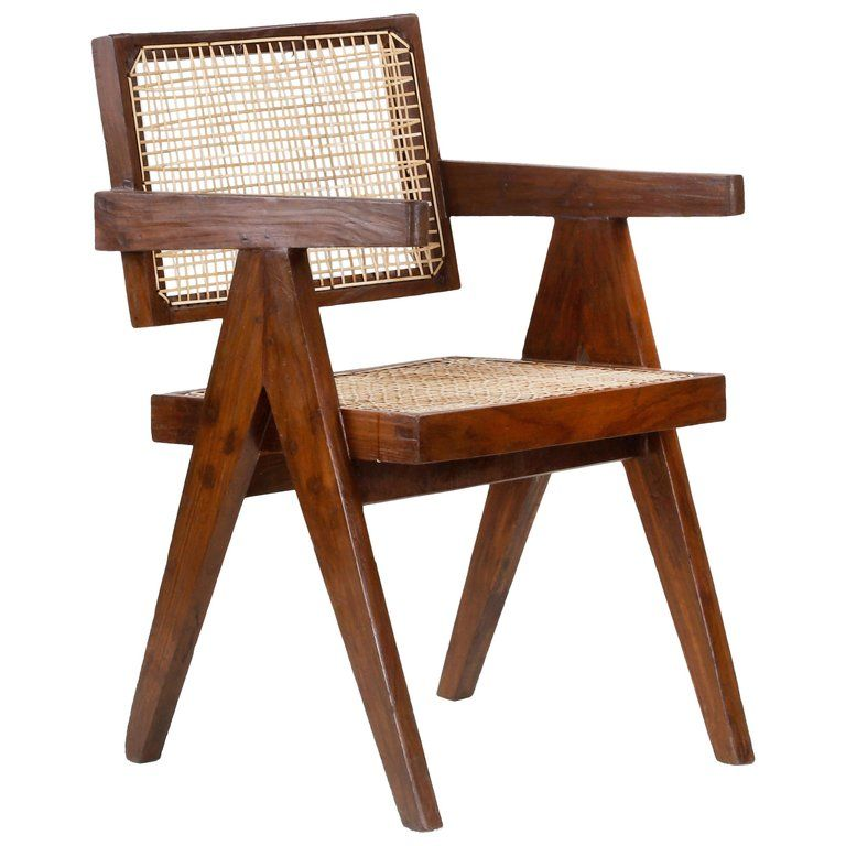 Terrific Pierre Jeanneret Chair Office Pj Si 28 Indian Mid Century Pdpeps Interior Chair Design Pdpepsorg