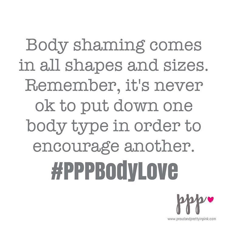 Body shaming is an ugly, disappointing, pathetic thing... yet so many of us participate in it. We shame others and we shame ourselves. Hopefully it's unintentional but we need to be more responsible for our actions. Let's stop the shaming. Let's love each other and celebrate our bodies for the beautiful differences they each have. Let's make some changes starting now!  #PPPBodyLove #bodyimage #bodypositive #proudandpretty
