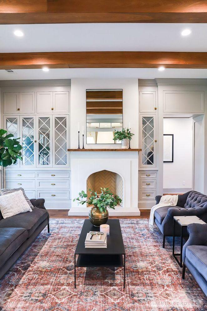 +28 Understanding Farmhouse Decor Living Room Joanna ...