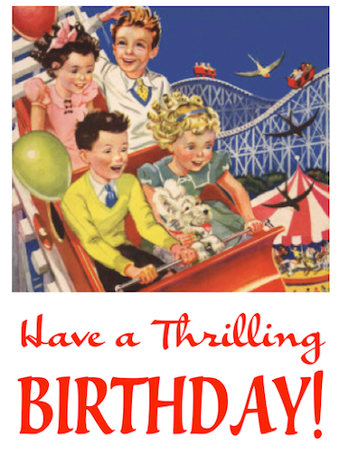 Pin By Jackie Blah Blah On Salutations And Celebrations Vintage Birthday Cards Birthday Greeting Cards Birthday Greetings