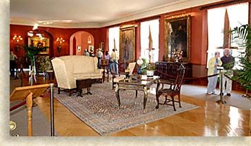 Biltmore House 2nd Floor Living Hall Old Style Before