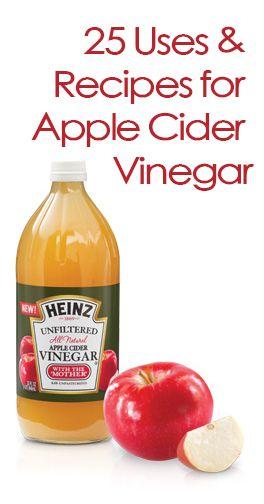 25 Uses For Heinz Apple Cider Vinegar Heinz Apple Cider Vinegar Apple Cider Benefits Cider Vinegar