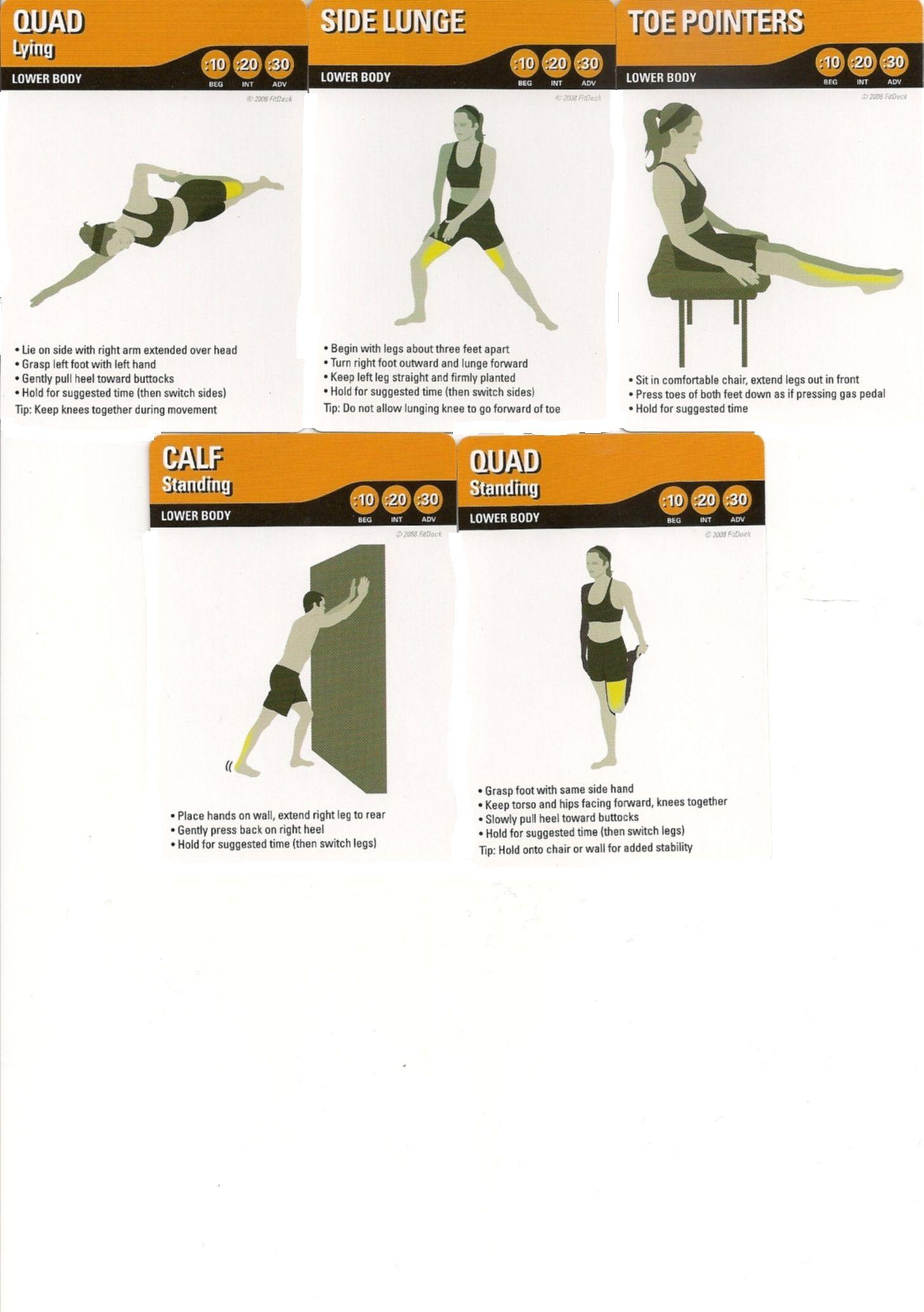 Lower Body Stretch 2