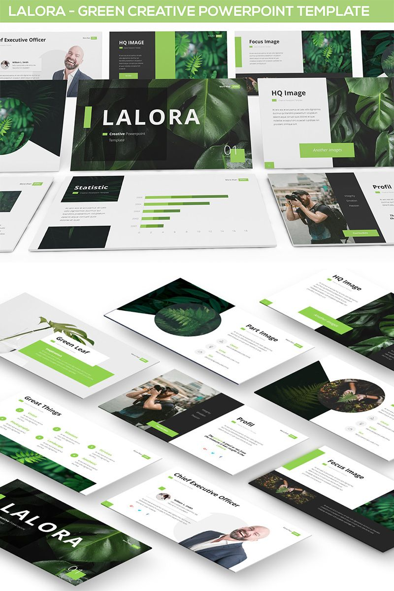 Lalora Green Business Powerpoint Template Ad Green Lalora Business Tem Business Powerpoint Templates Powerpoint Templates Creative Powerpoint Templates