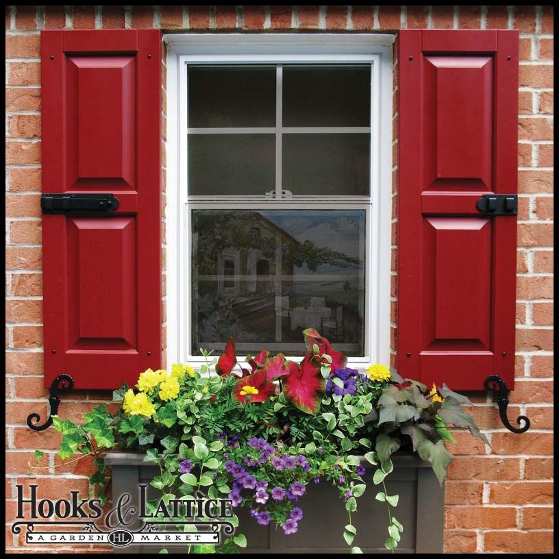Standard Amp Custom Exterior Shutters Are The Perfect Way To