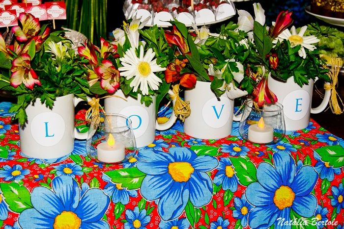 caneca = vaso de flor!
