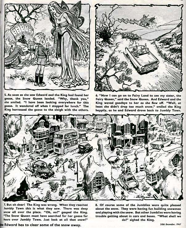 Edward and the Jumblies from Teddy Bear comic