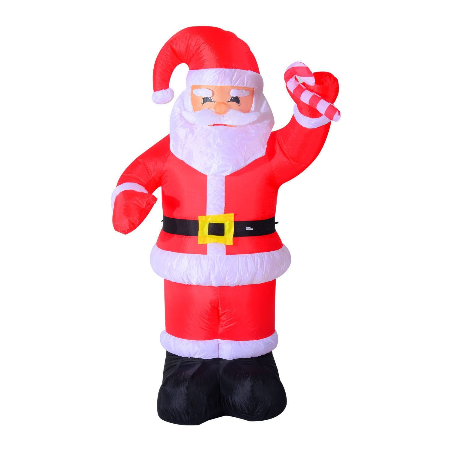 HomCom 8ft Indoor/Outdoor LED Inflatable Holiday Christmas Yard ...