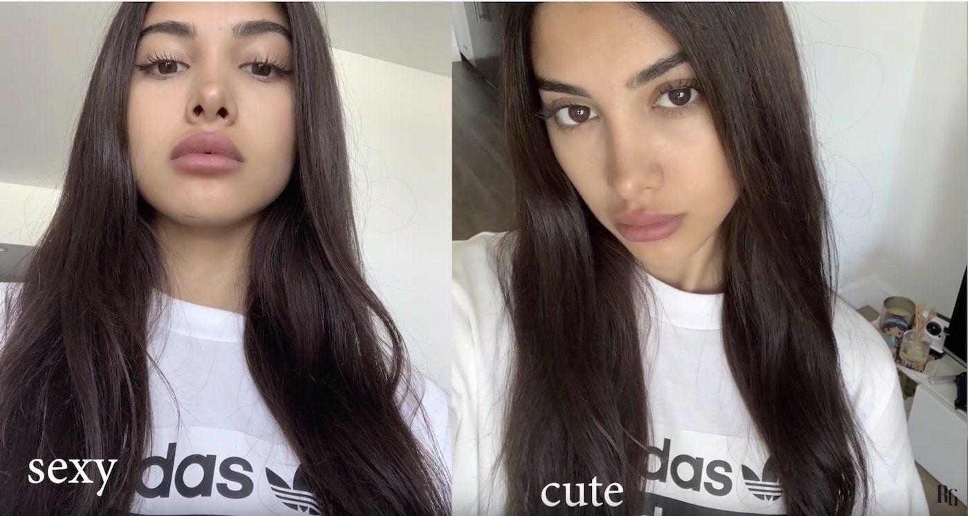 How to take a selfie like a model