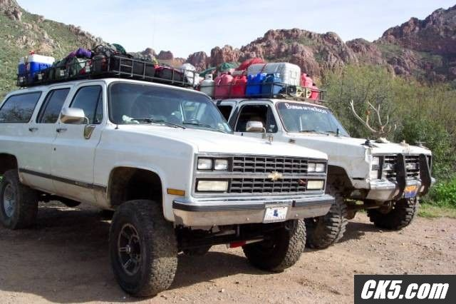 Roof Rack Chevrolet Suburban Chevy Suburban Custom Chevy Trucks