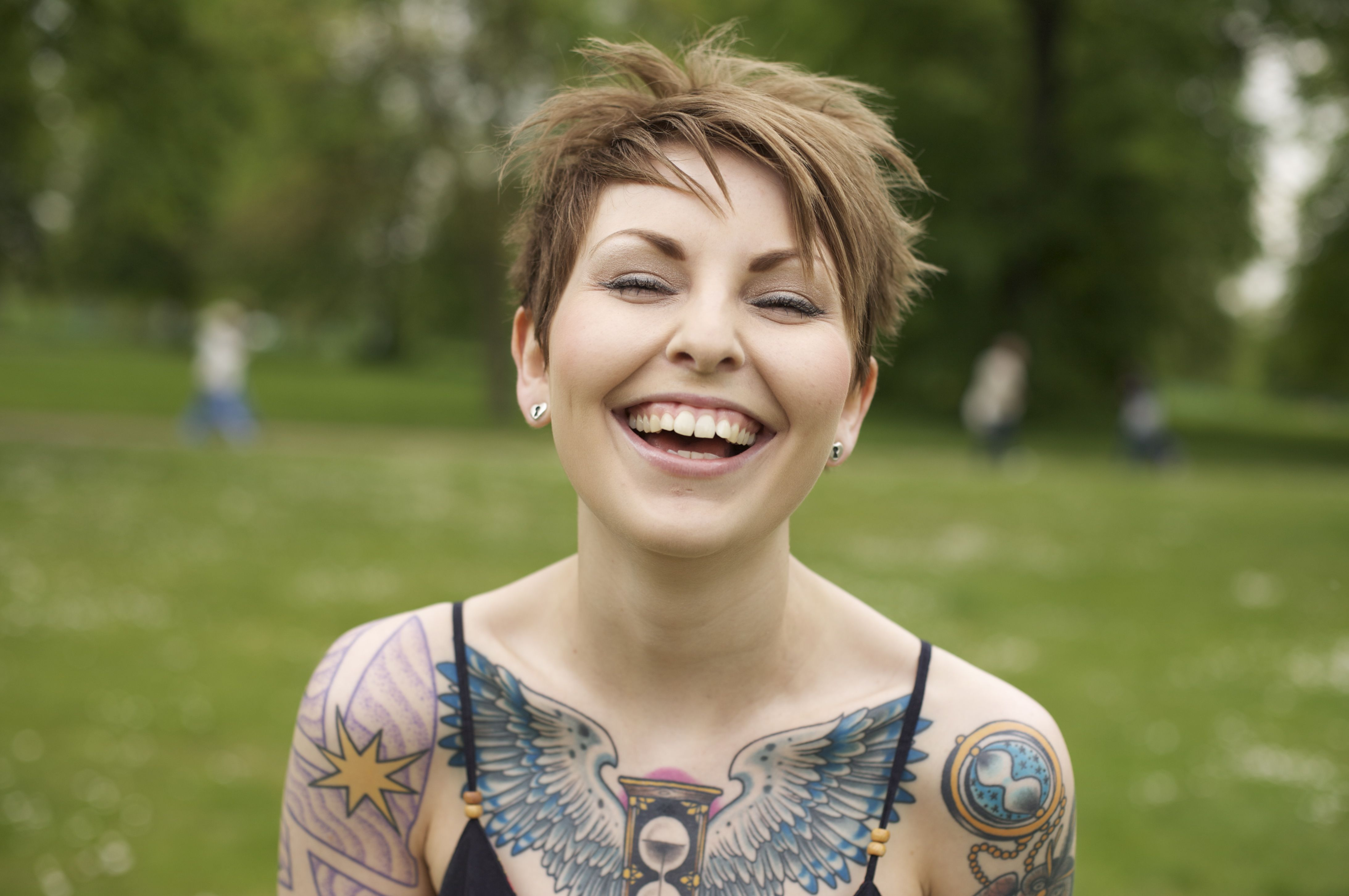 Laura In Hyde Park Photography By Lou O Bedlam Tattoo