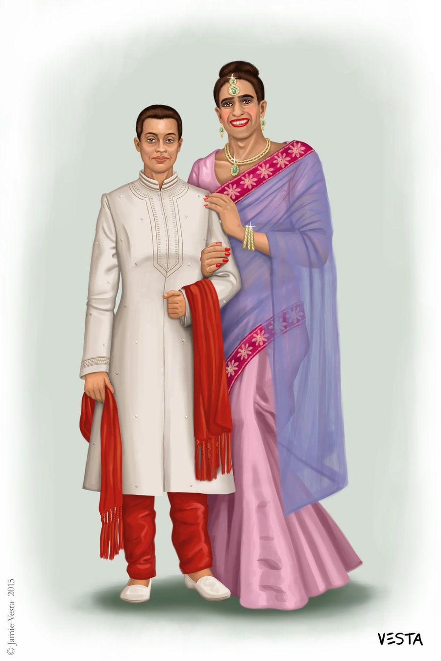 Indian Wedding by Eves-Rib.deviantart.com on @DeviantArt | Trans ...