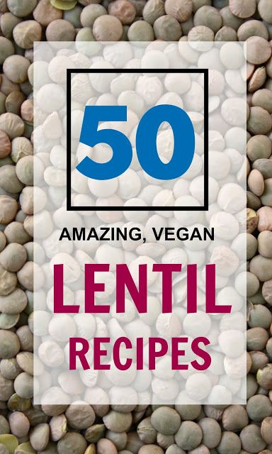 LOVE lentils! They're affordable, packed with fiber, protein and other nutrients, and have great environmental and sustainability benefits! Here are 50 healthy vegan lentil recipes to celebrate International Year of the Pulses! #IYP2016