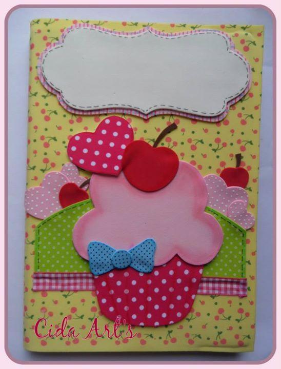 Cuaderno decorado con goma eva goma eva pinterest for Decoracion con goma eva