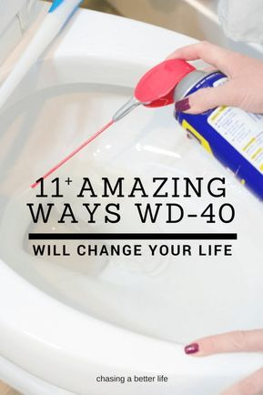 Wd 40 11 Amazing Uses You Didn T See Coming Cleaning