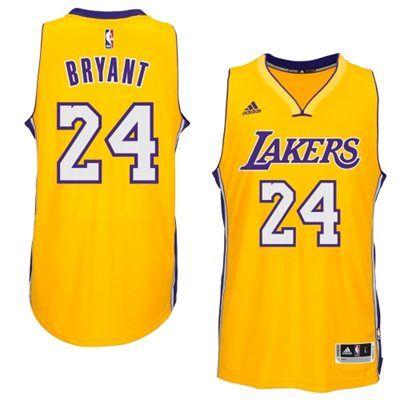 c22bca6dba1 Mens Los Angeles Lakers Kobe Bryant adidas Gold 2014-15 New Swingman Home  Jersey