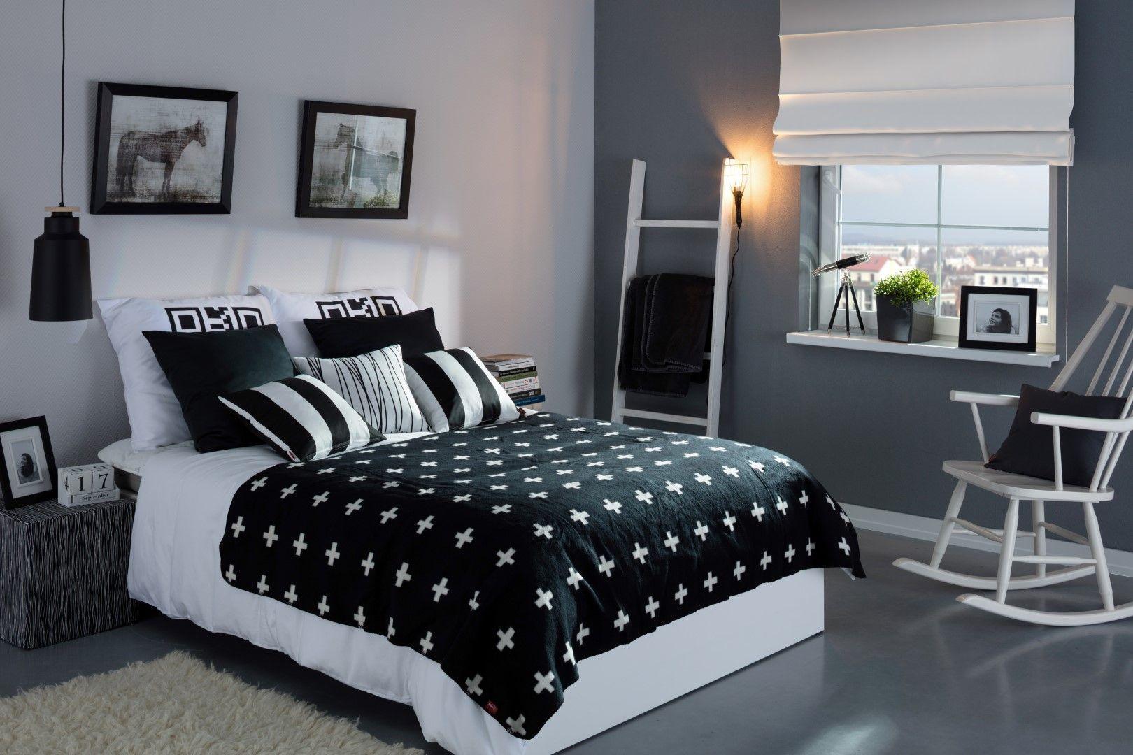 19+ Amazing Black and White Bedroom Decor Renovation ...