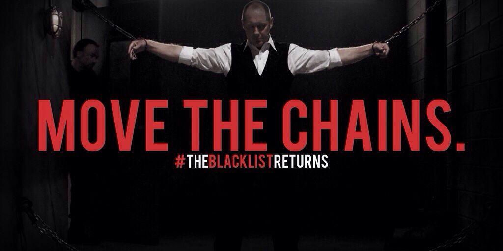James Spader in The Blacklist