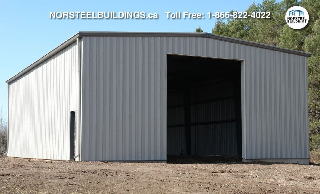 @NorsteelBuildings posted to Instagram: Where Pre-Engineered Buildings like the ones sold by Norsteel Buildings, really save customers money is on simple designs like this classic 40x60x16. Reach out to us to get a building like this one, priced for you and your location, today.   #norsteel #norsteelbuildings #steelbuilding #steelbuildings #steel #metalbuilding  #metalbuildings #metal #steelstructure #steelstructures #metalstructure #Canadian #preengineered #preengineeredbuilding #preengineeredb