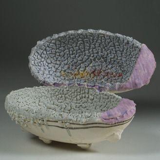 Fine Craft Ceramic Sculpture by John Chalke - Calgary, Alberta. Member of the Alberta Craft Council.
