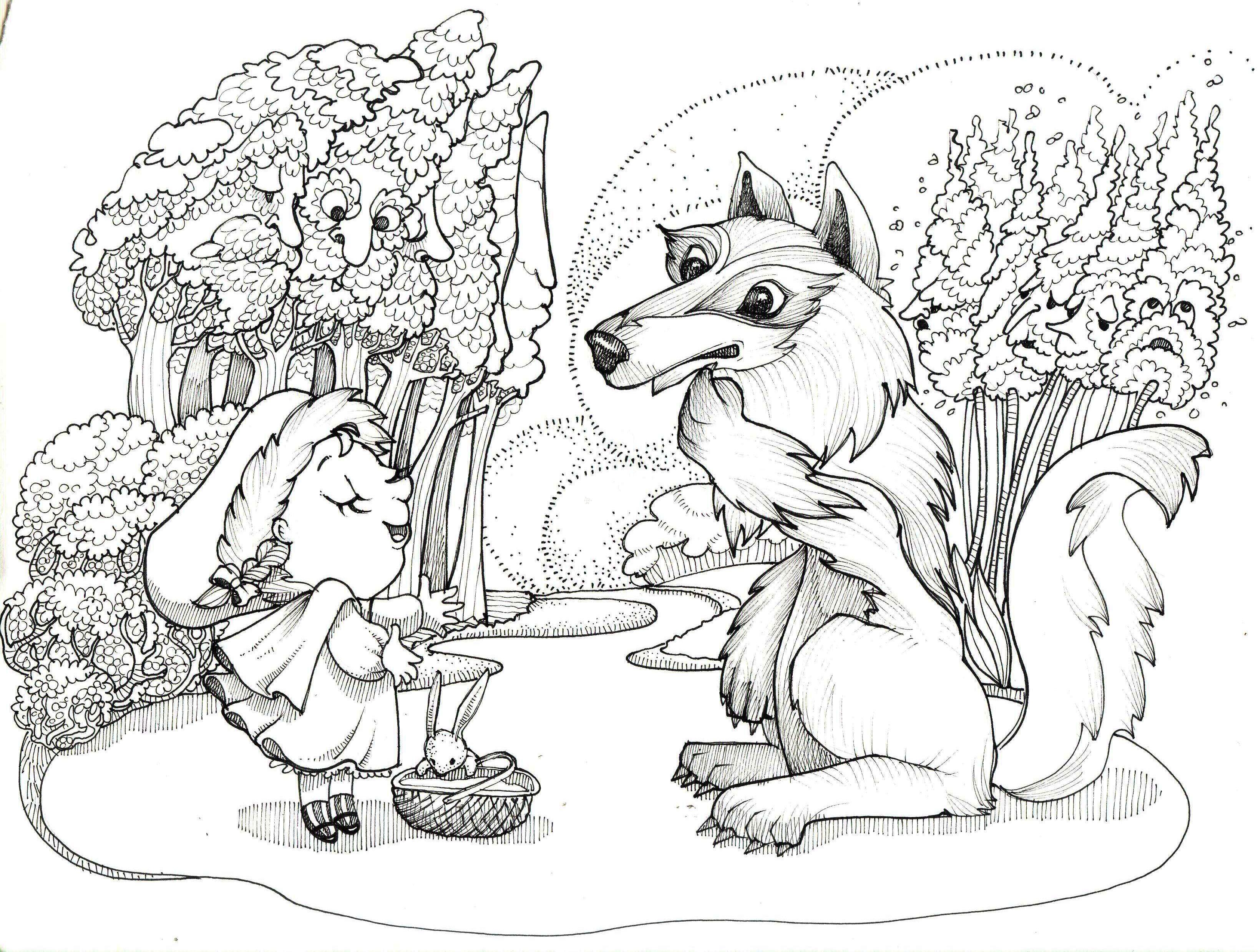 cappuccetto e il lupo