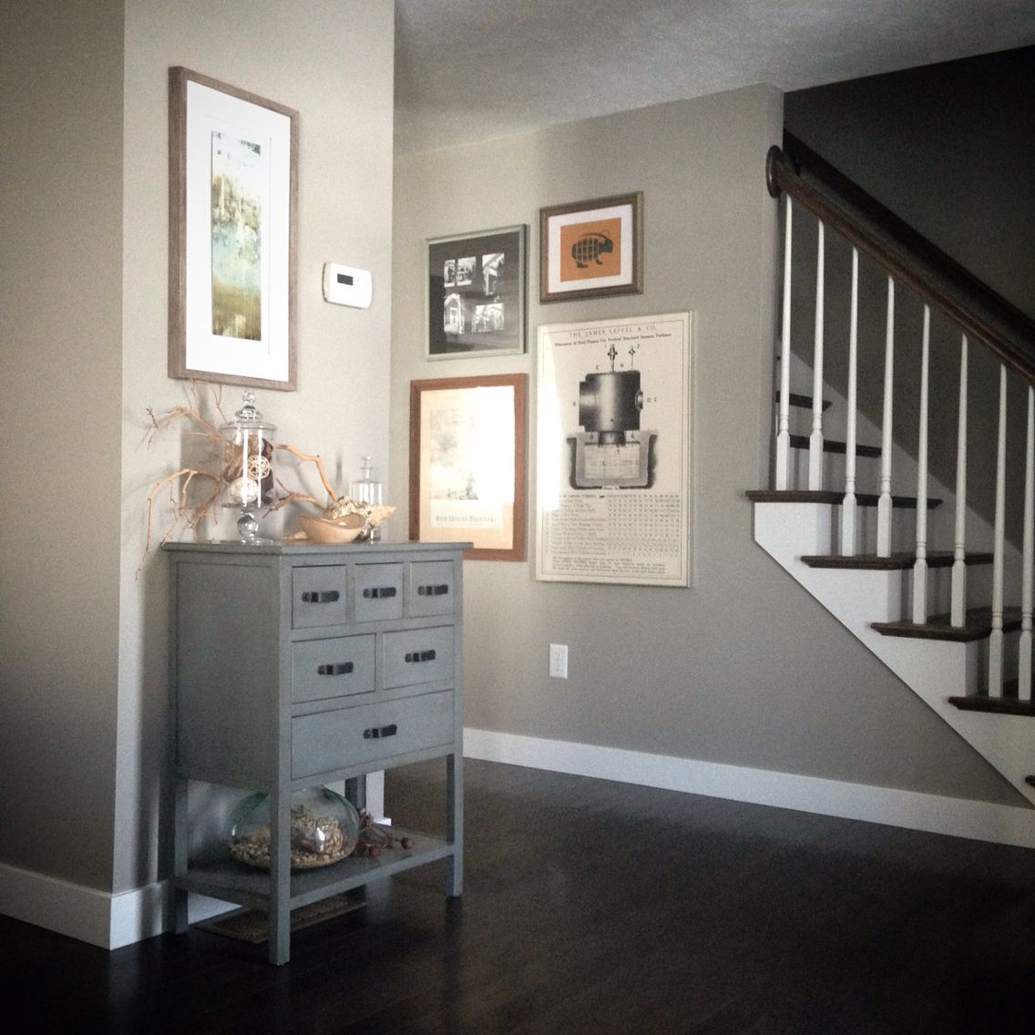 The Natural Side Of 3 Neutral Color Living Room Designs: Neutral/natural Entryway Decor In Our New Home. Sherwin