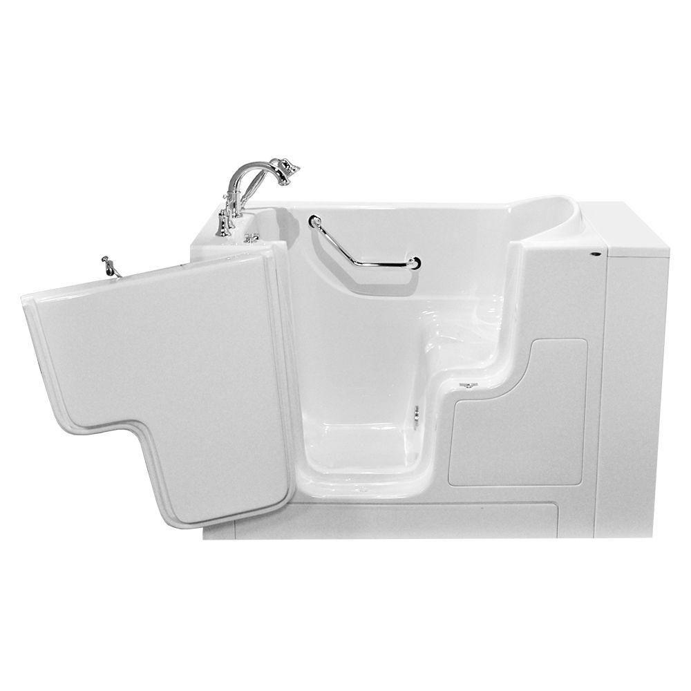 American Standard OOD Series 52 in. x 30 in. Walk-In Soaking Tub ...