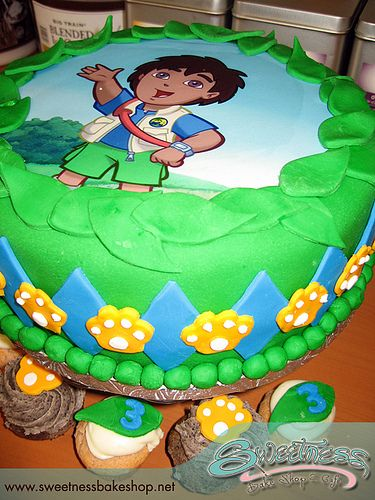 Pin By Miss Sharon On Go Diego Go Birthday Pinterest - Go diego go birthday cake