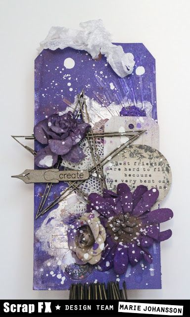Create without limits: Arty Tags - Scrap FX Design Team