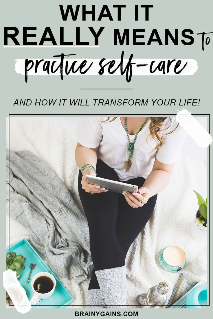 Selfcare really isn't that complicated. It's all about