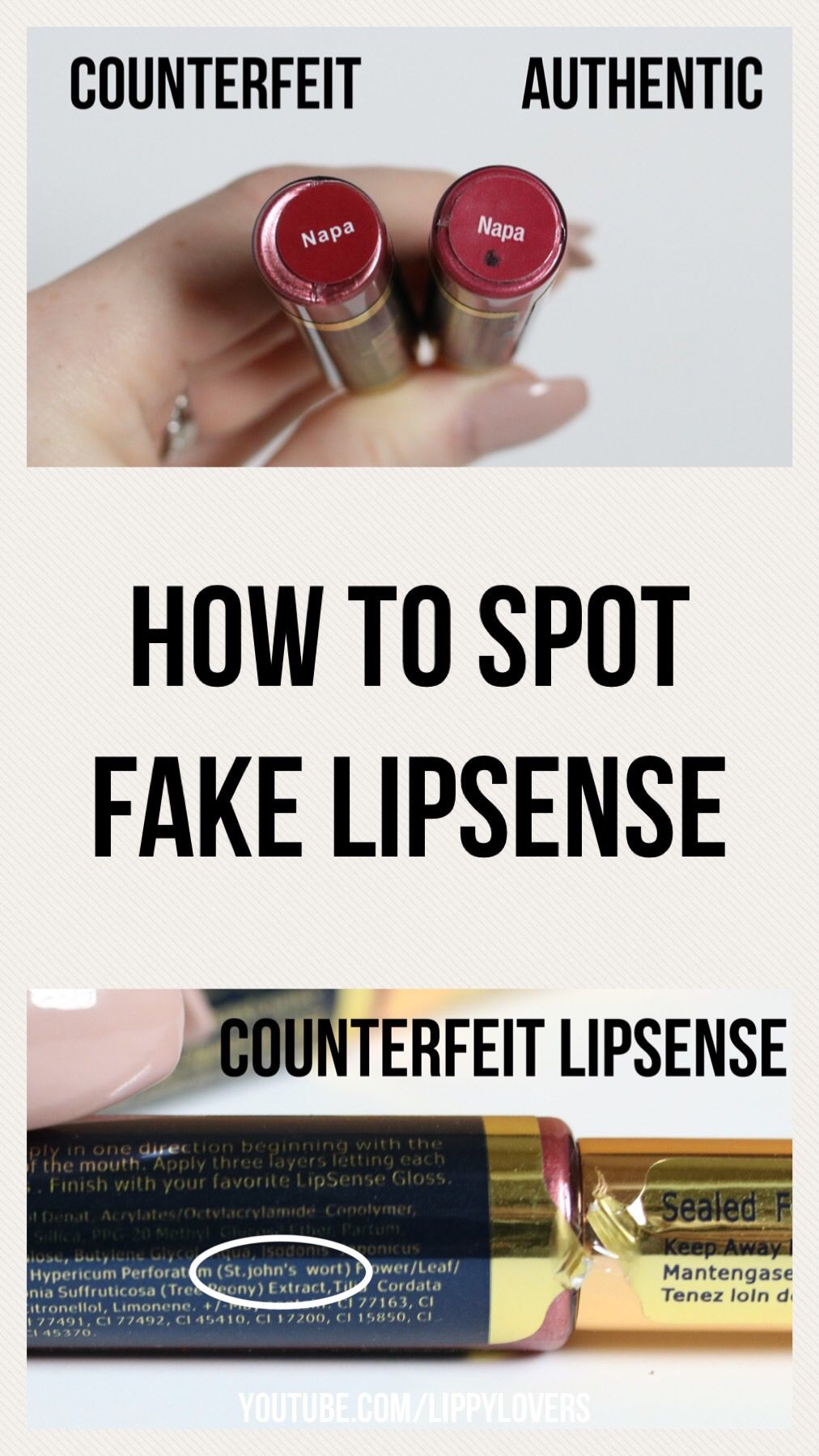 How to tell if your LipSense is real. lipsense Lipsense