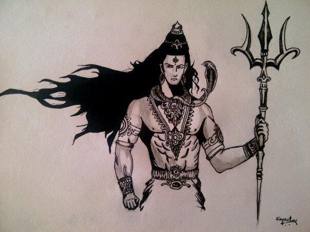 Boom Shiva Lord Shiva Sketch Shiva Sketch Lord Shiva Painting