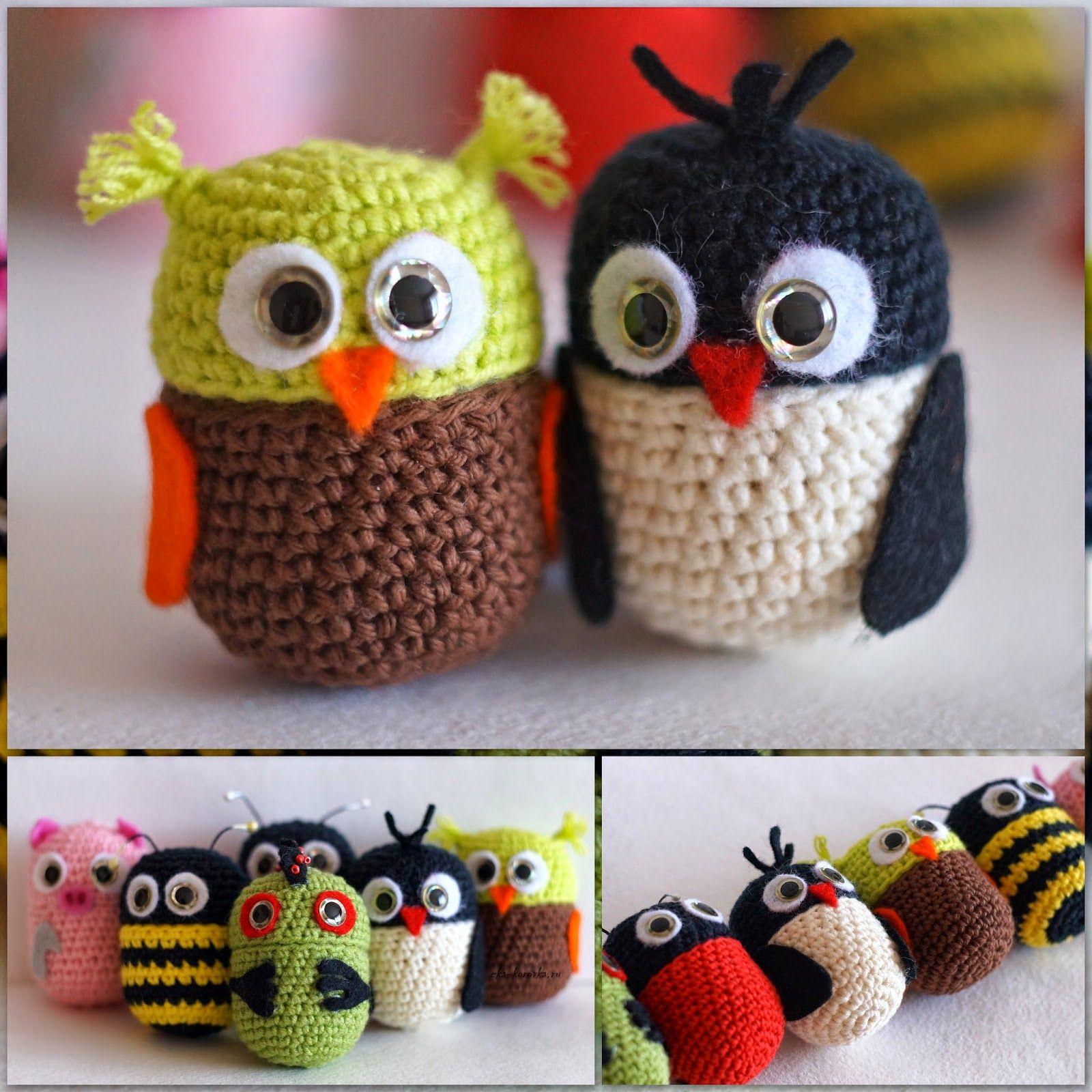 Киндер-сюрпризное | TUTTI FRUTTI или обо всем понемногу... | crochet ...