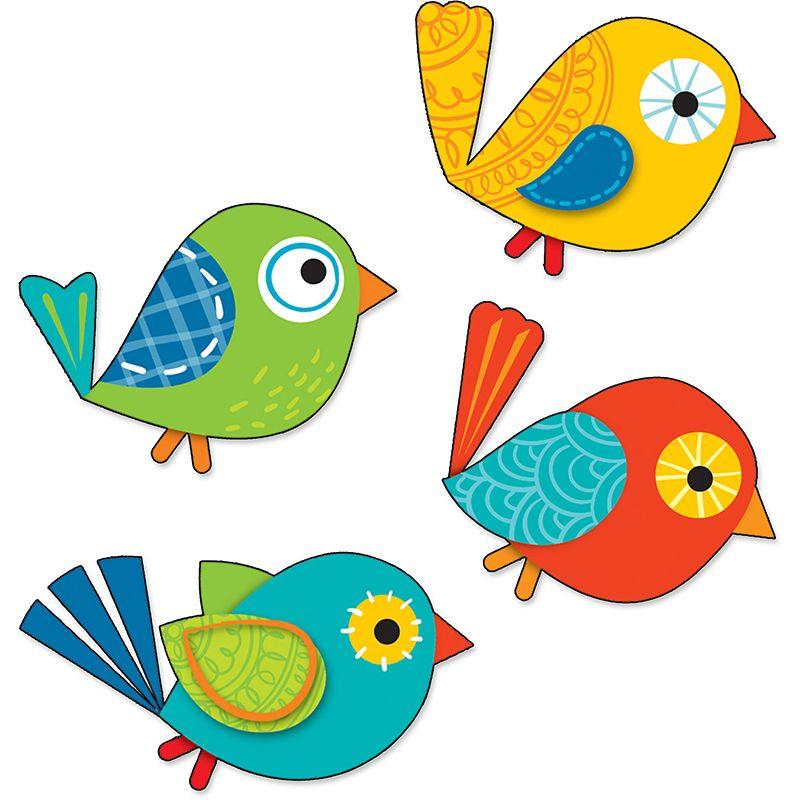 Boho Bird Clip Art